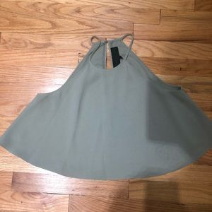 Sage green Kendall + Kylie Blouse